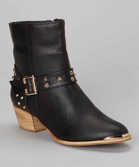 Black Linda Low Boot