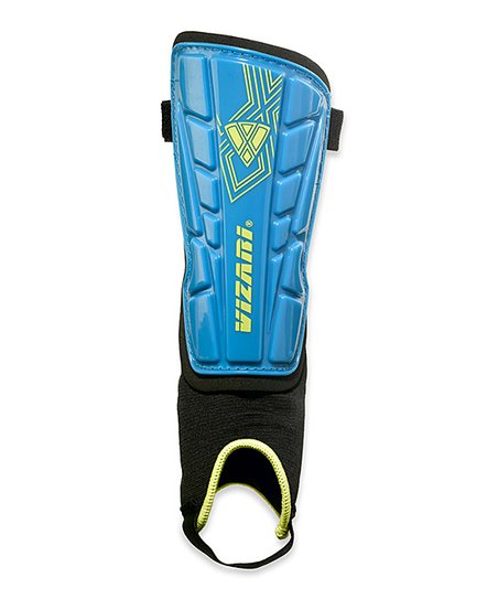 Blue Malaga Shin Guards