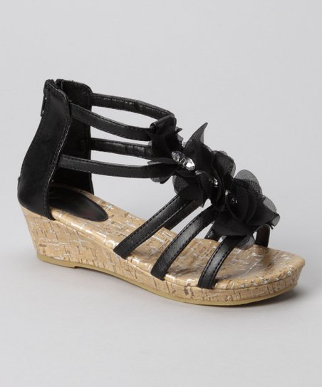 Black Kelly Gladiator Sandal