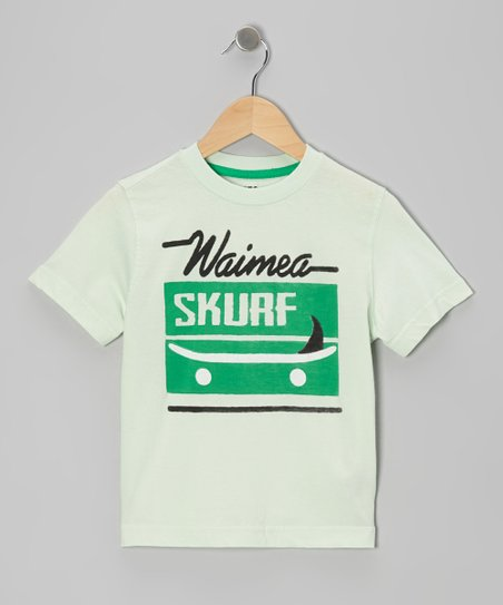 Mint & Gray 'Skurf' Tee
