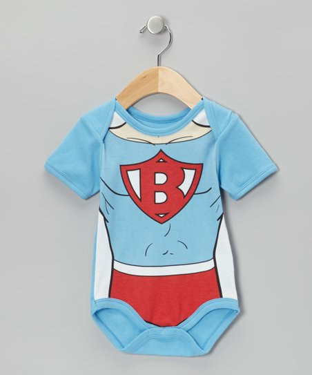Light Blue Super Baby Bodysuit