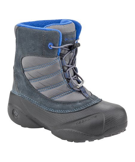 Black & Azul Rope Tow Boot - Kids