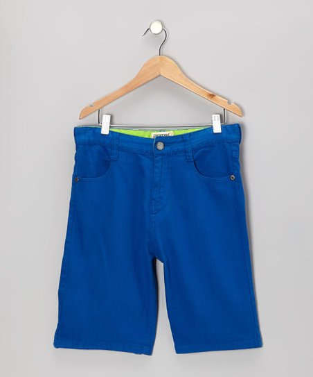 Royal Bull Denim Shorts - Toddler & Boys