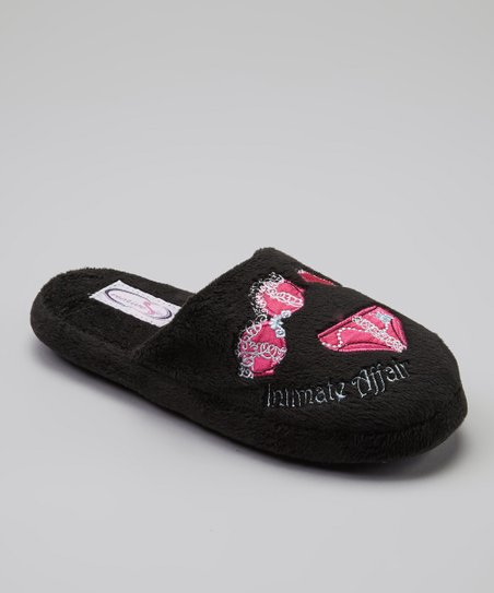 Black Intimate Affair Slipper