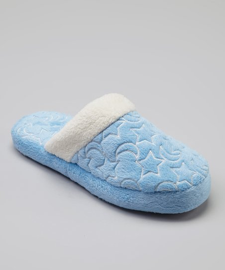 Light Blue Moonstruck Slipper
