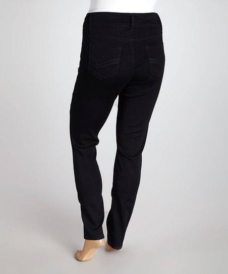 Black Sophia Sky High Skinny Jeggings - Plus