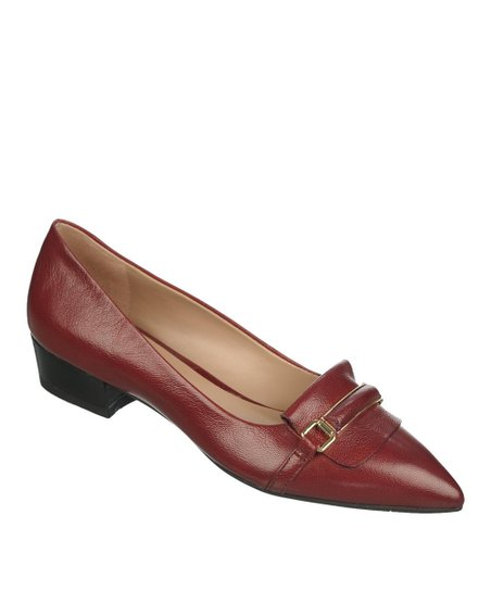 Rose Red Embrace Pump