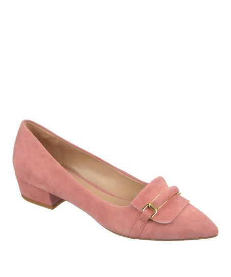 Dusty Rose Suede Embrace Pump