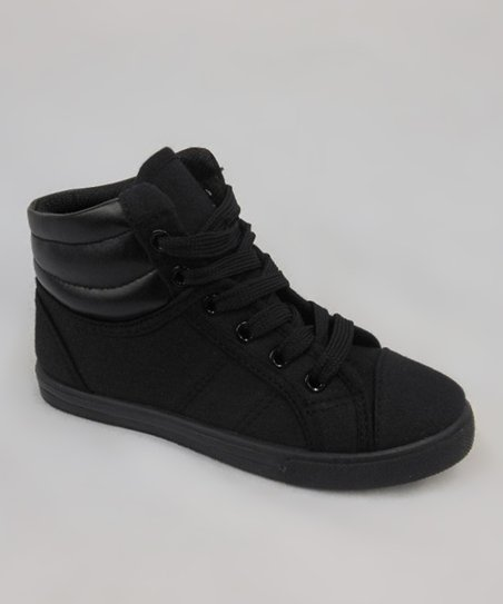 Black Perla-11K Hi-Top Sneaker