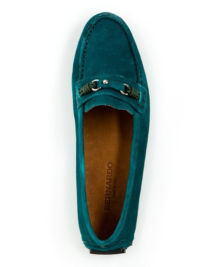 Teal Fae Loafer