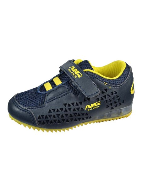 Navy & Yellow Light-Up Sneaker
