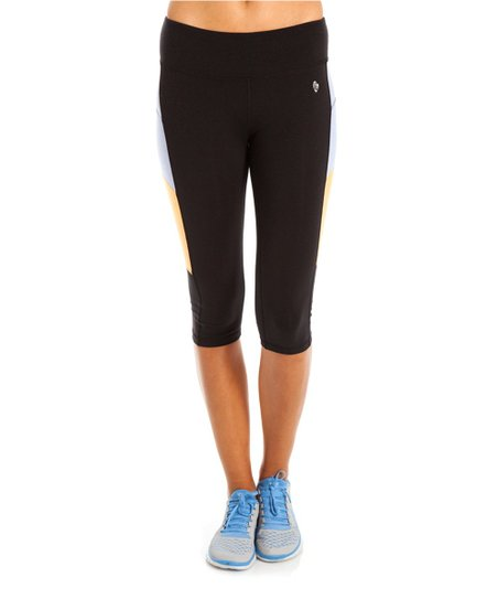 Black & Sky Belize Crop Capri Pants