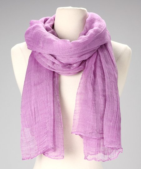 Lavender Cotton Scarf