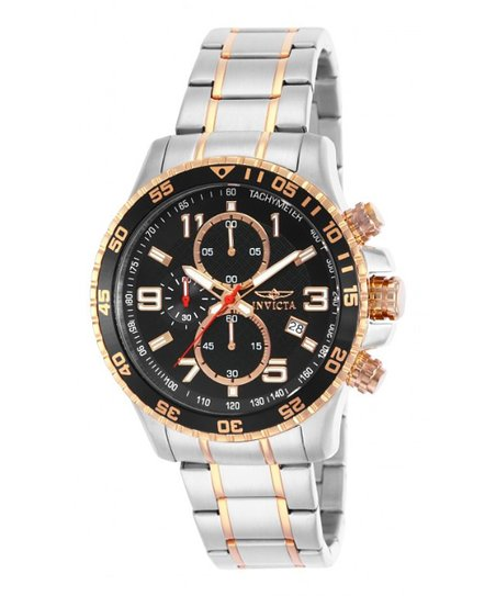 Stainless Steel & Rose Gold 14877 Specialty Watch - Men