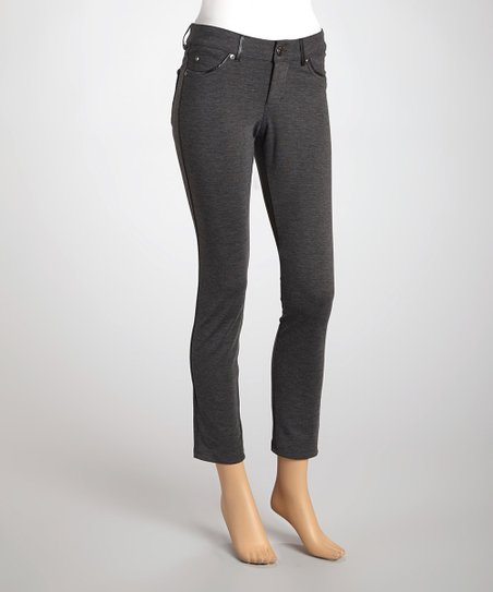 Charcoal Heather Skinny Pants