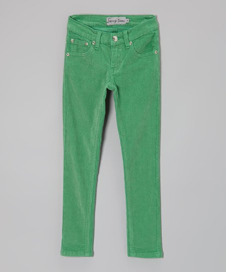 Jade Corduroy Pants - Girls