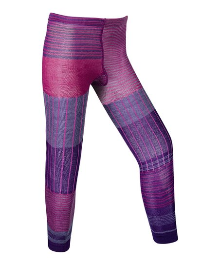 Grape Pipp Footless Wool-Blend Tights
