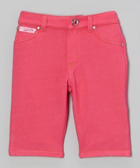 Pink Capri Pants - Toddler & Girls