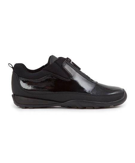 Black Patent Howdoo Shoe - Women