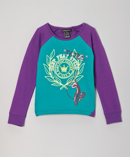 Royal Purple 'Totes' Raglan Tee - Toddler & Girls