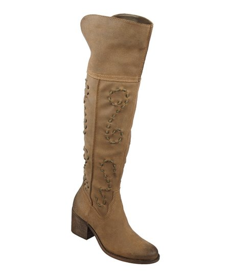 Taupe Noble Leather Boot
