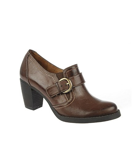 Oxford Brown Carlo Bootie
