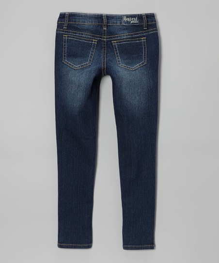 Villanova Wash Zipper Utility Skinny Jeans - Girls