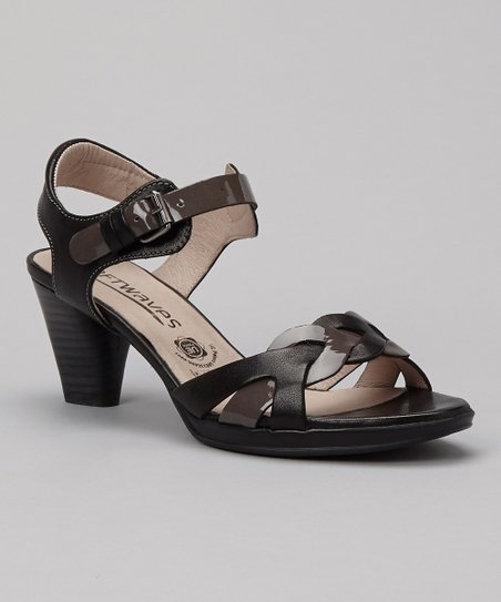 Black & Gray Mara Pump