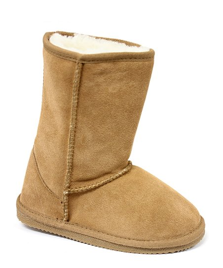 Chestnut Fleece Boot - Kids