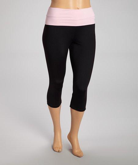 Sweet Lilac Cinch-Back Capri Pants - Plus