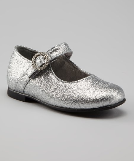 Silver Glitter Christina Mary Jane