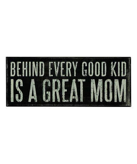'Great Mom' Wall Sign