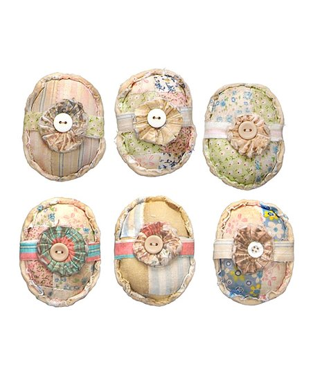 Quilted Decorative Egg Set