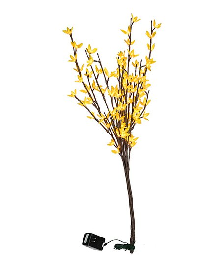 Yellow 19.75'' Forsythia Twig Light