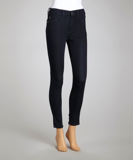 Midnight Indigo Slim Fit-Leg Jeans