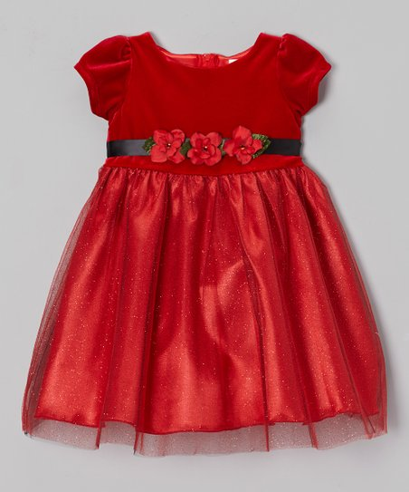 Red Tulle Mimi Dress - Toddler & Girls