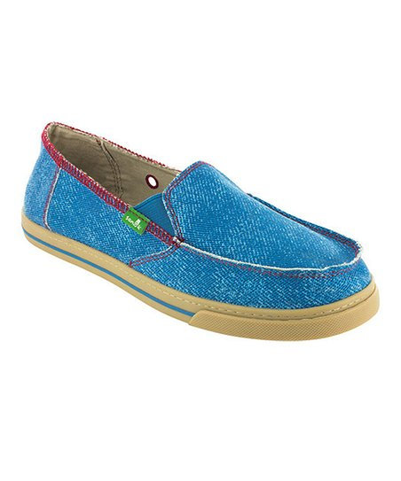 Blue Cabrio Breeze Slip-On Shoe - Women