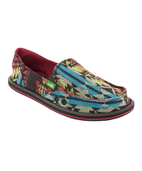 Blue Tribal Donna Slip-On Shoe - Women
