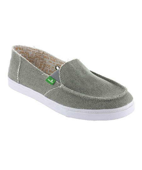 Gray Cabrio Slip-On Shoe - Women