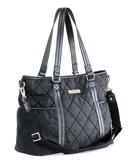 Black Danah Diaper Bag