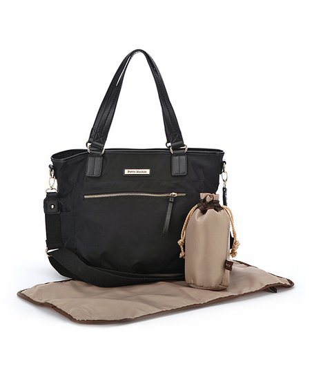 Black Rachel Diaper Bag
