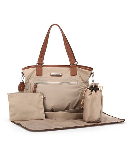 Cream Rachel Diaper Bag