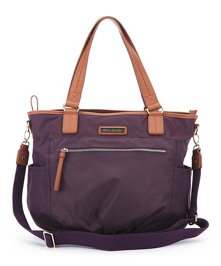 Purple Rachel Diaper Bag