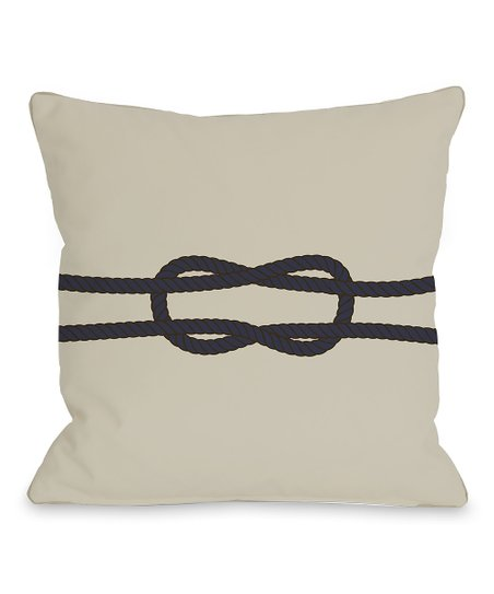 Square Knot Square Pillow