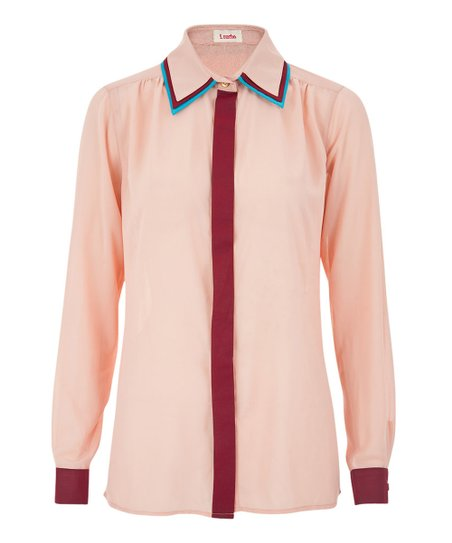 Pink Trinity Button-Up