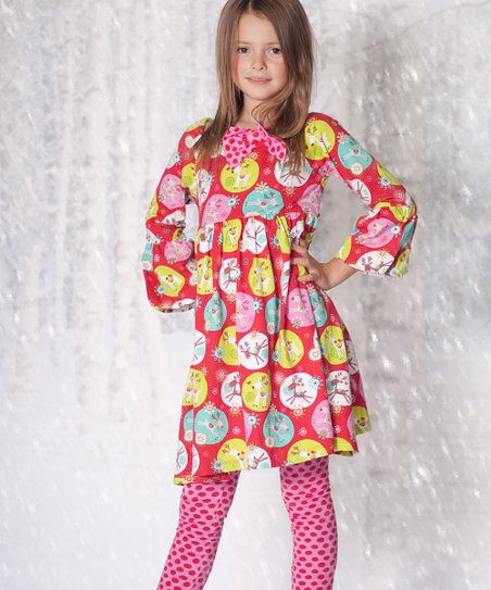 Jingle Jelly Ashley Dress & Leggings - Infant & Toddler