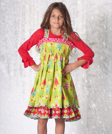 Oh Christmas Tree Holiday Dress & Top - Infant & Girls