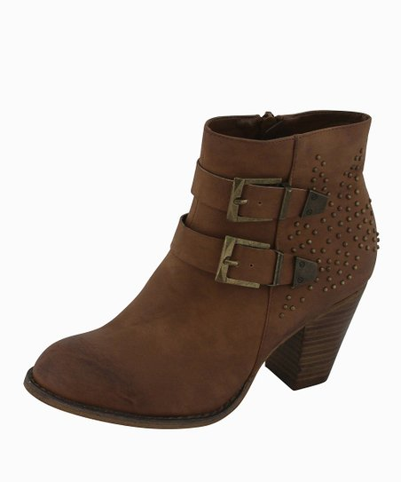 Tan Julia Ankle Boot