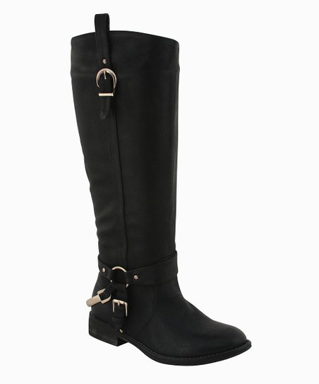 Black Natalie Boot