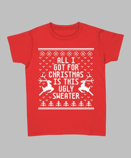 Red 'All I Got for Christmas' Tee - Women & Plus